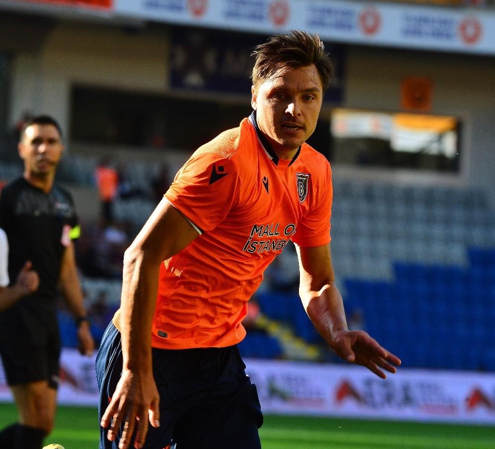 Süper Lig: Medipol Başakşehir: 0 - Demir Grup Sivasspor: 1 (İlk yarı)
