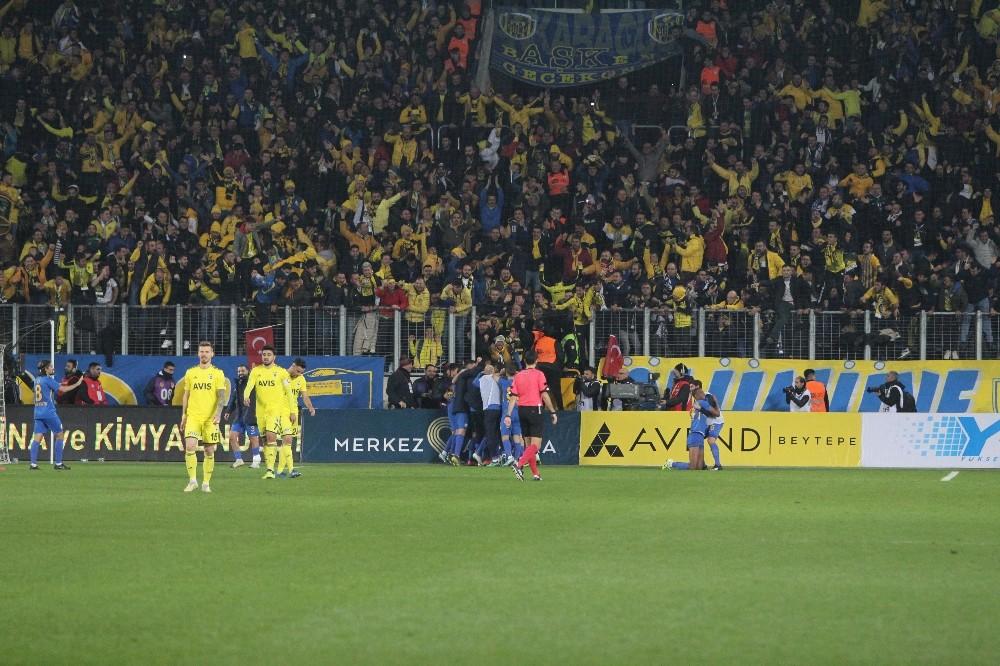 Süper Lig: MKE Ankaragücü: 2 - Fenerbahçe: 1 (Maç sonucu)