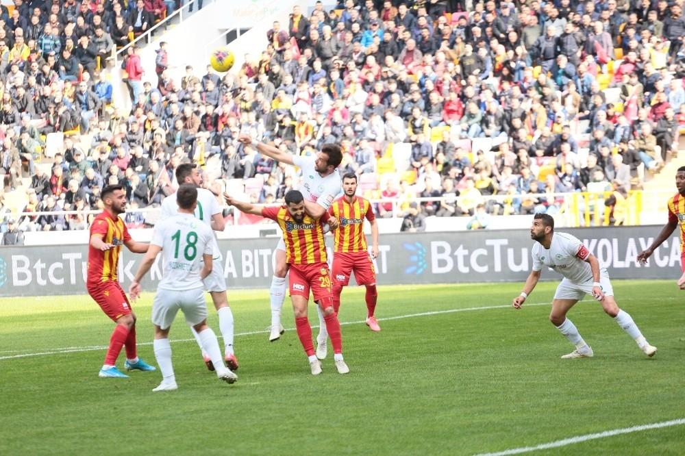 Süper Lig: Yeni Malatyaspor: 0 - Konyaspor: 1 (İlk yarı)