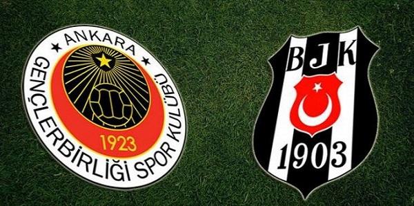 Süper Lig'de Gençlerbirliği, Beşiktaş'ı 2-1 yendi