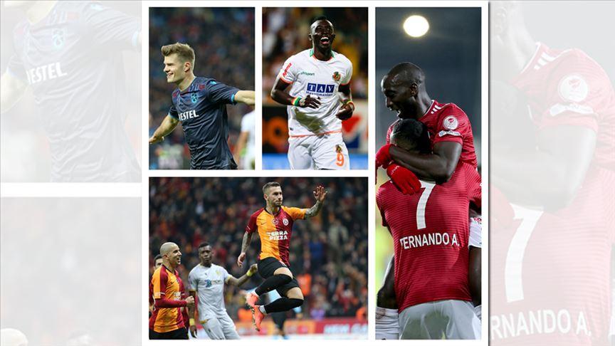 Süper Lig'de golcülerin performansı, takımları için fark oluşturuyor