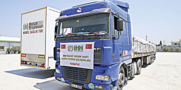 Suriye iHH ile nefes alıyor