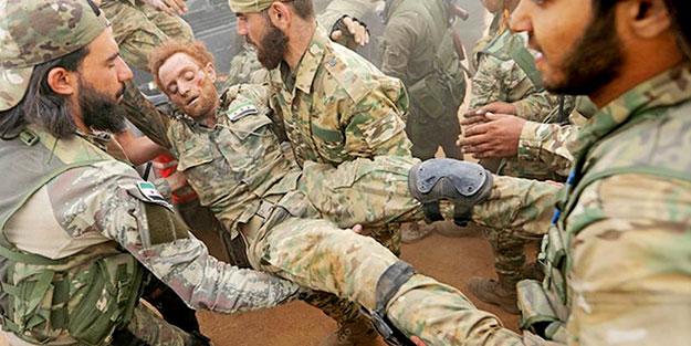 Suriye Milli Ordusu'nda 118 şehit!