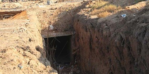 Suriye Milli Ordusu, YPG'nin büyük tünel ağını havaya uçurdu!