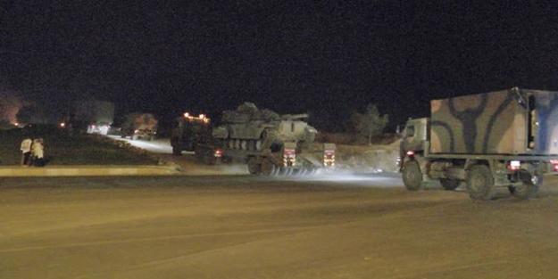 Suriye sınırına dev askeri sevkiyat!