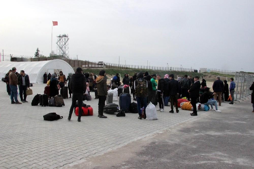Suriye sınırında korona virüsü tedbiri