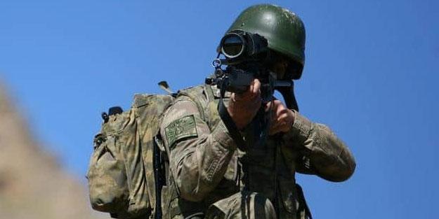 Suriye sınırında PKK'ya ait 7 kilo plastik patlayıcı ele geçirildi