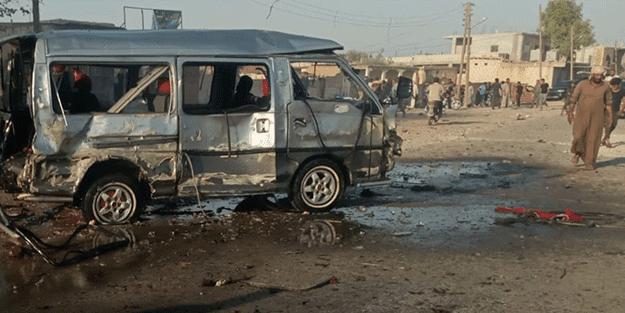 Suriye'de bomba yüklü araç patlatıldı! Yaralılar var