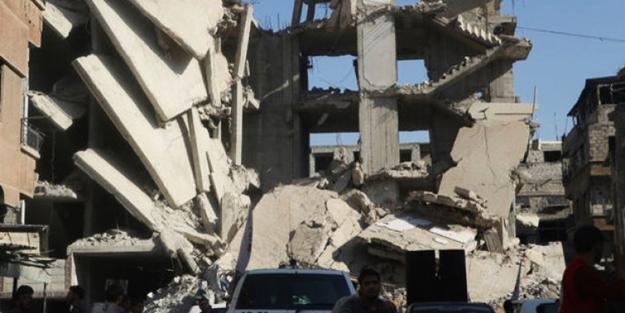 Suriye'de füzeli saldırı! Çok sayıda ölü var