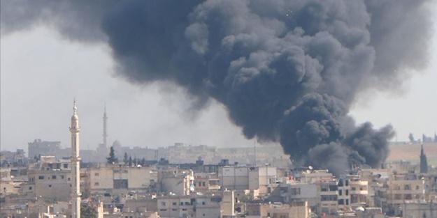 Suriye'de hareketli saatler! Rusya bombardıman uçakları ile saldırmaya başladı