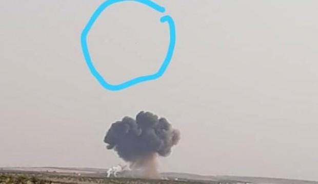 Suriye'de rejime ait savaş uçağı düşürüldü iddiası