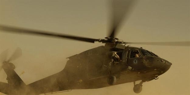 Suriye'de rejimin helikopteri düştü