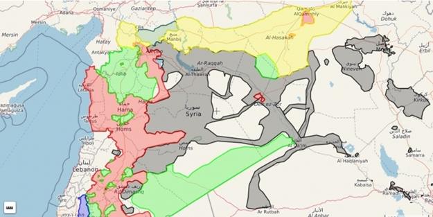 Suriye'de tek başına yol almanın sınırları