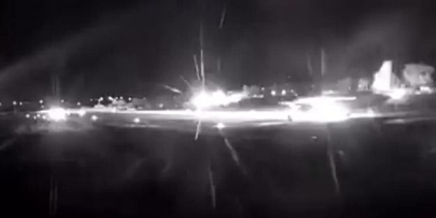 Suriye'de vurulma tehlikesiyle karşı karşıya kaldı! Rus üssüne indi