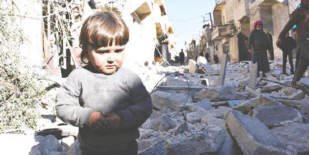 Suriye'de zulüm devam ediyor kardeşler