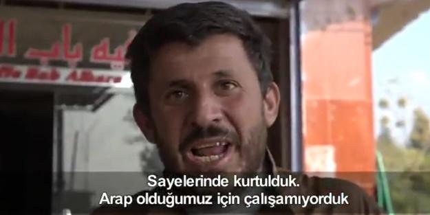 Suriyeli esnaftan Türk ordusuna ve Cumhurbaşkanı Erdoğan'a teşekkür