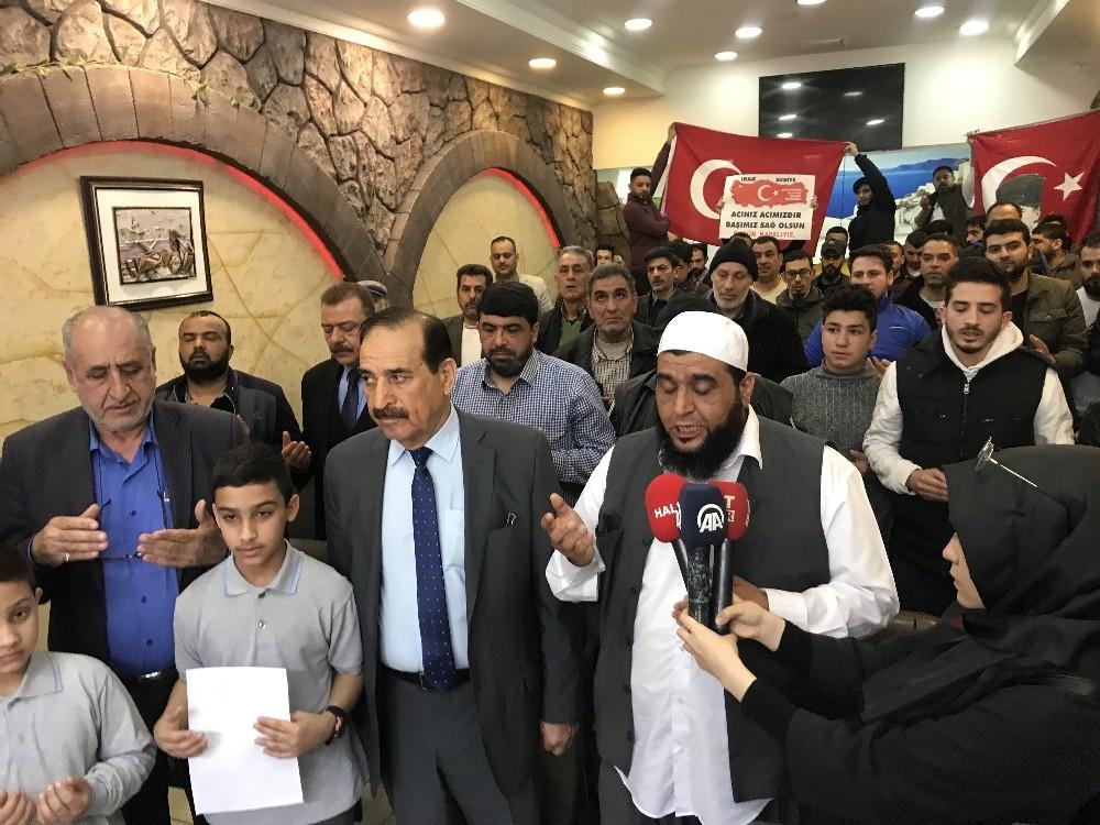 Suriyeli ve Iraklı sığınmacılardan Türk askerine destek