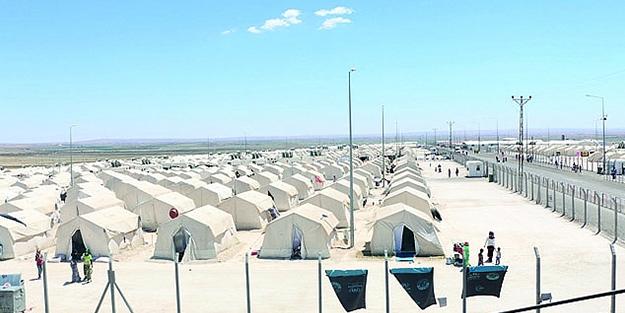 Suriyelilerin barındığı çadır kentlerle ilgili flaş gelişme!