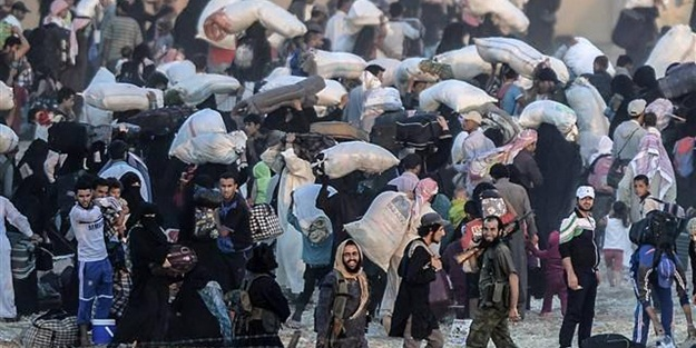 Suriyelilerin girişine izin çıktı