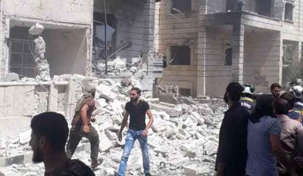 Suriye'nin İdlib kentinde patlama: 1 ölü, 8 yaralı