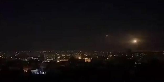 Suriye'ye hava saldırısı düzenlendi