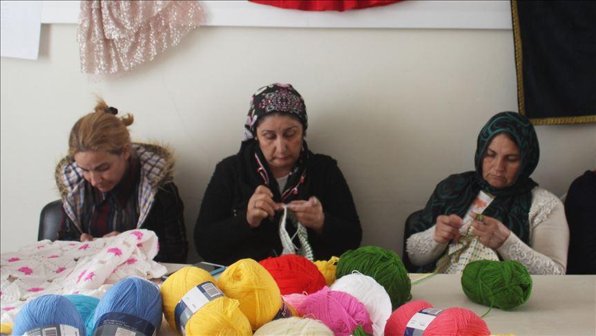 Suruçlu kadınların hayatı devletin desteğiyle değişiyor