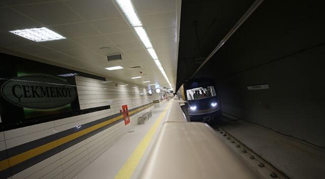 Sürücüsüz metronun ikinci etabında test sürüşleri devam ediyor
