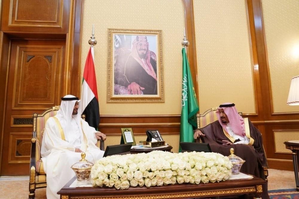Suudi Arabistan Kralı ile BAE Prensi Yemen'i görüştü