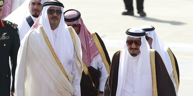 Kuveyt Emiri, Suudi Arabistana gidiyor