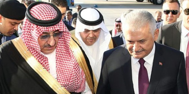 Suudi Arabistan Prensi Ankara'da
