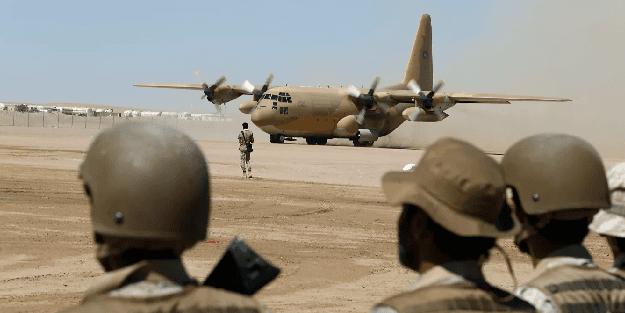 Suudi Arabistan ve ABD askerleri sahaya indi!