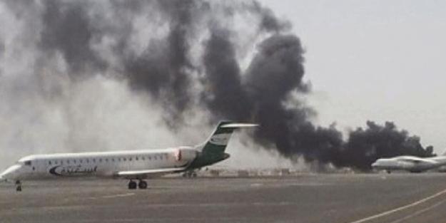 Suudi Arabistan'da Havalimanı vuruldu