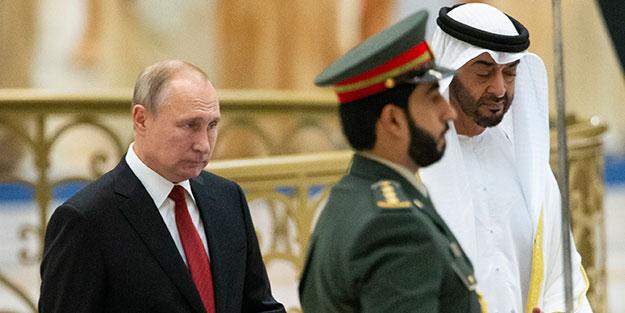 Suudi Arabistan'daki rezaletin aynısı BAE'de de yaşandı... Putin'in zor anları!