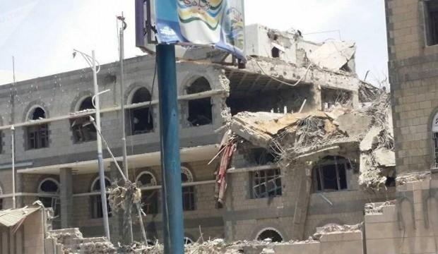Suudi Arabistan'dan saldırı! Saray'ı vurdular