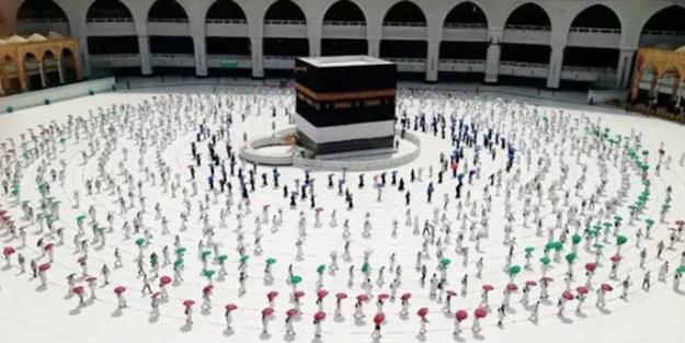 Suudi Arabistan'dan sosyal mesafeli hac açıklaması