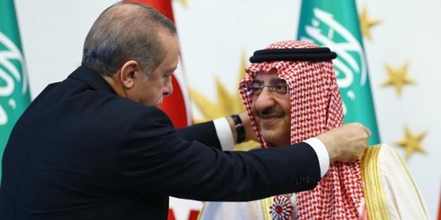 Erdoğan'dan Suudi Prense nişan sürprizi