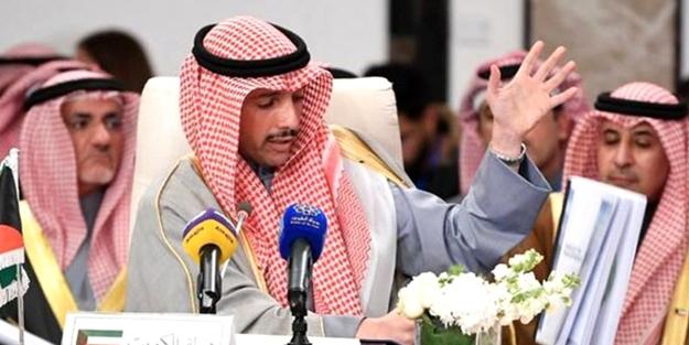 Suudiler İsrail ve ABD'ye tarihi ayar veren Kuveyt Parlamento Başkanı Merzuk Ali el-Ganim'i hedef aldı