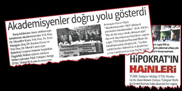 Tabipler birliği, PKK'nın  ilaç vurgununa sus pus