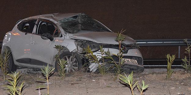 Takla atan aracın altında kaldı... İzmir'de feci ölüm