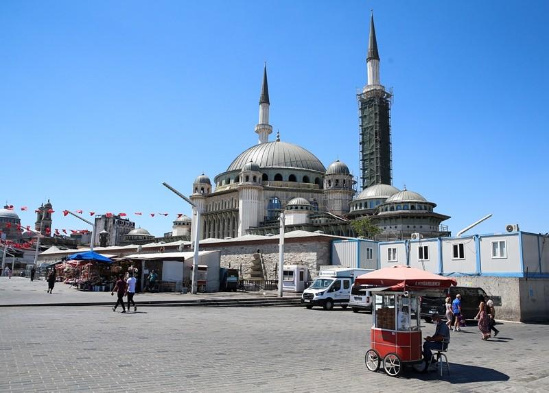 Taksim Camii'nde sona yaklaşılıyor! İşte son durum