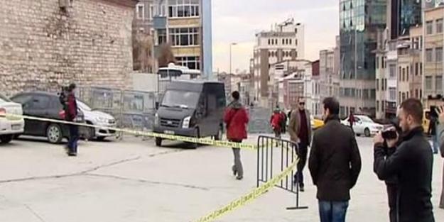 Taksim'in göbeğinde polise ateş açıldı