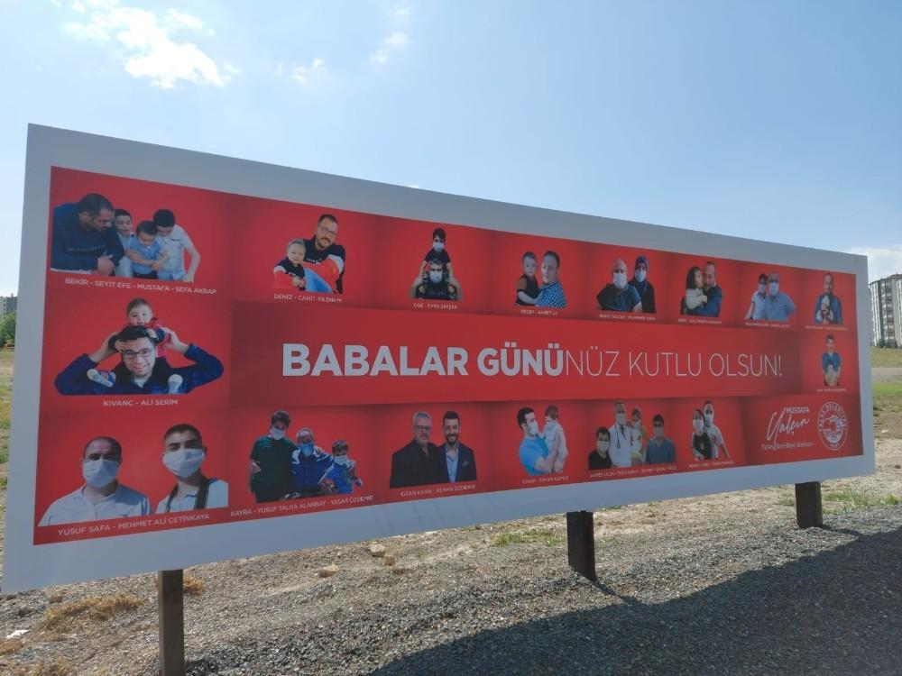 Talas Belediyesinden Babalar gününe özel kutlama