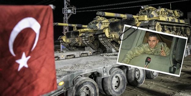 Tank komutanı sınırdan seslendi: Tek bir isteği var
