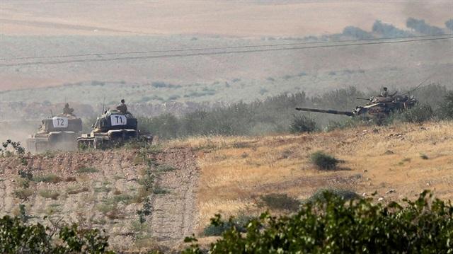 Tanklar Suriye sınırına geçti!