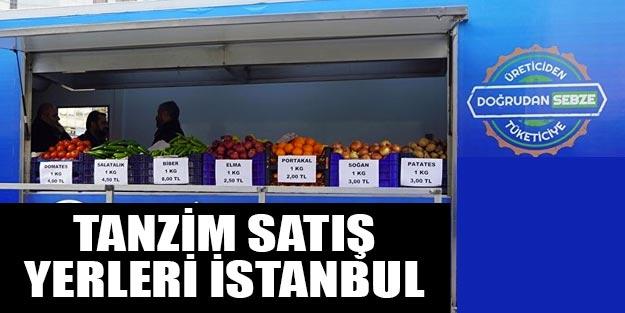 Tanzim Satış: Tanzim Satış İstanbul Nerede