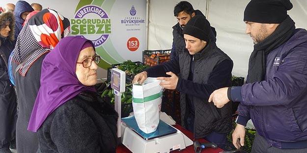 Tanzim satış İstanbul nerede | Belediyeler ucuz sebze meyve nerelerde satıyor