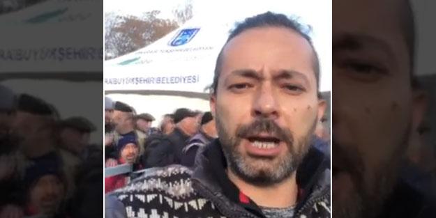 Tanzim satışları provoke etmeye çalışan İrfan Değirmenci'ye sert tepki!