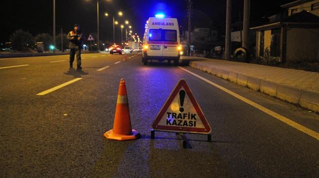 Taraftar kafilesi kaza yaptı: 1 ölü, 19 yaralı