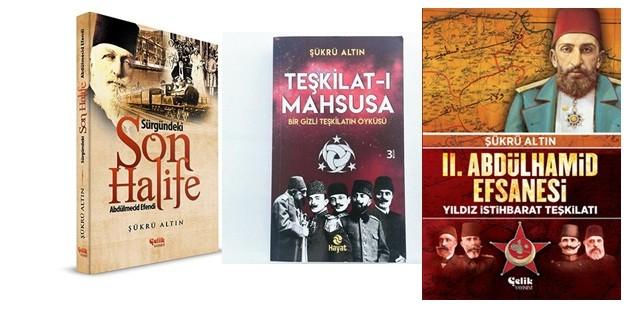 Tarihçi yazar Şükrü Altın'dan üç enfes eser