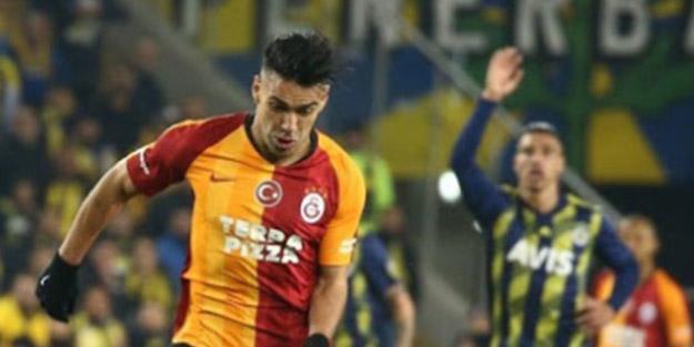 Tarihi derbi sonrası Falcao'dan flaş Fenerbahçe açıklaması